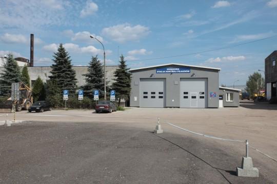 Budynek Stacji diagnostycznej kontroli pojazdów