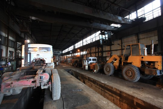 Kompleksowe remonty maszyn budowlanych oraz pojazdów ciężarowych